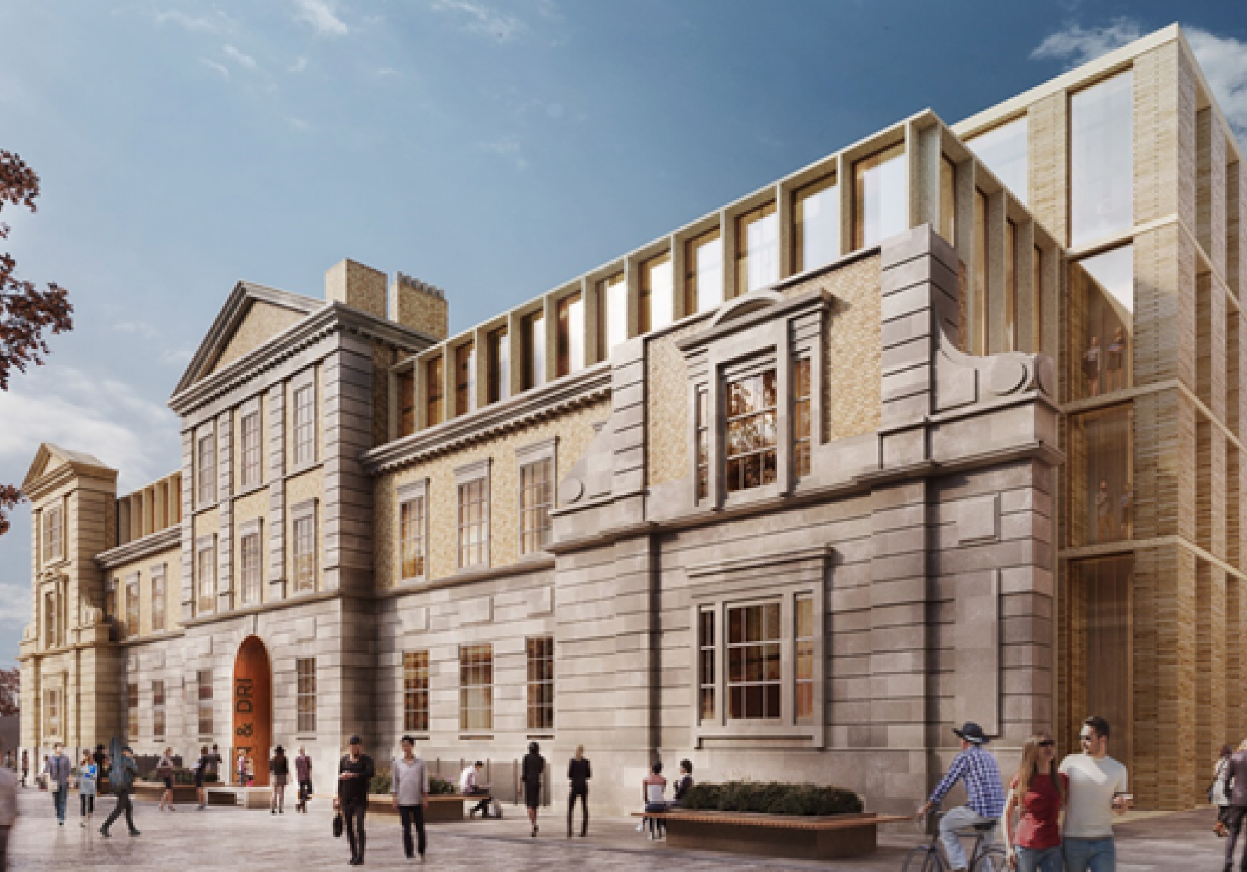 The Wolfson Foundation Artist Impression Of The Neuroscience Building From Grays Inn Road